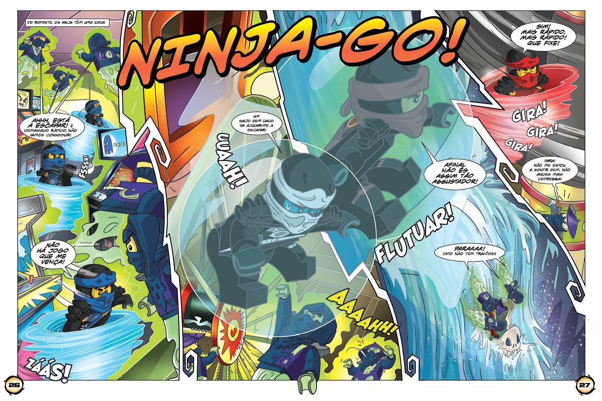 Blue Ocean lego Ninjago-Movie-cromos 64