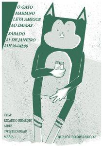 O Gato Mariano Leva Amigos ao Damas @ Damas | Lisboa | Lisboa | Portugal