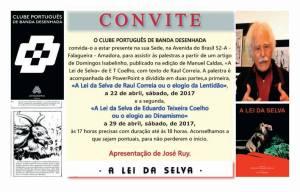 Palestras sobre A Lei da Selva @ Clube Português de Banda Desenhada | Amadora | Lisboa | Portugal