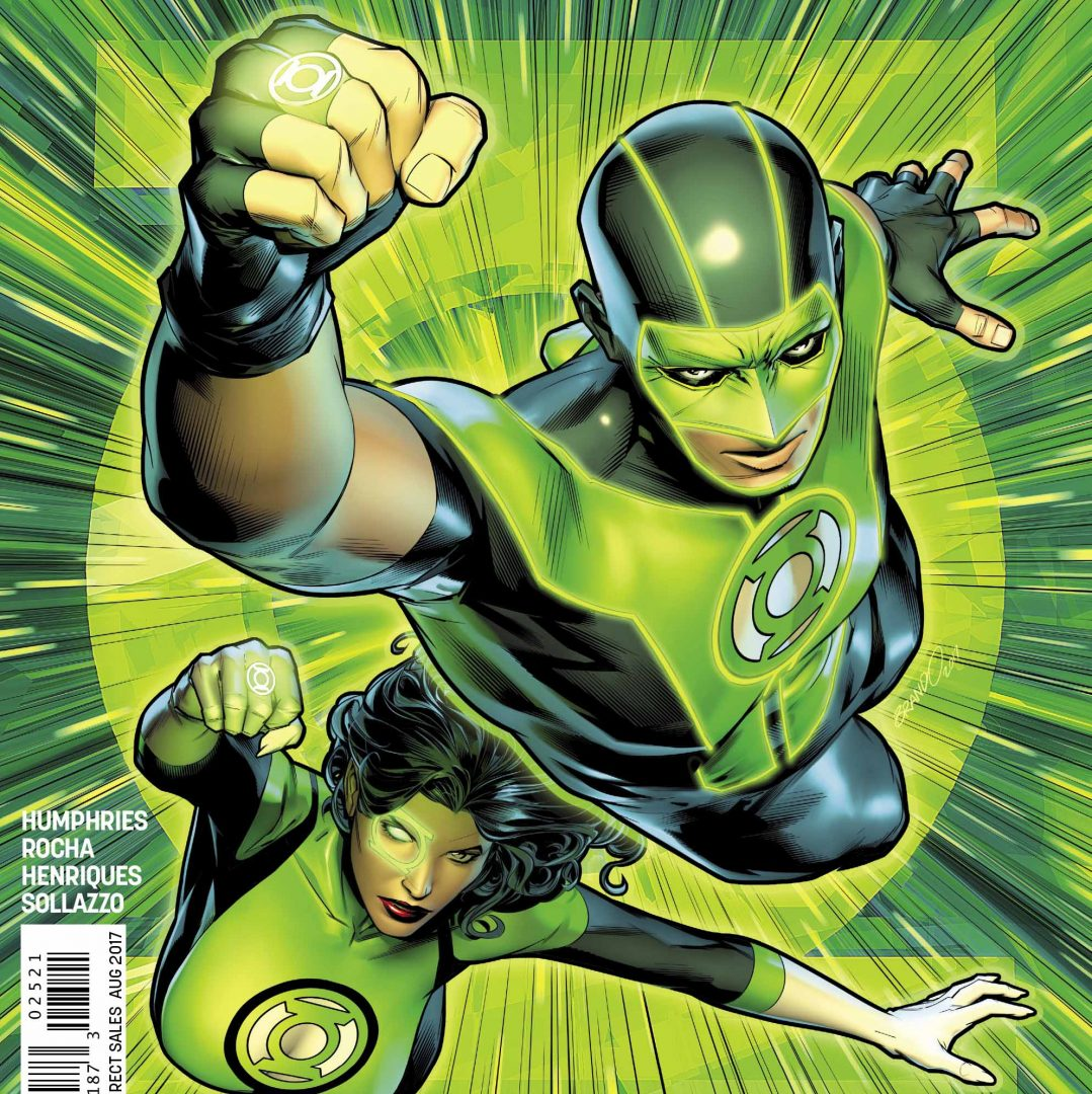 Green Lanterns #25 by Rocha & Henriques