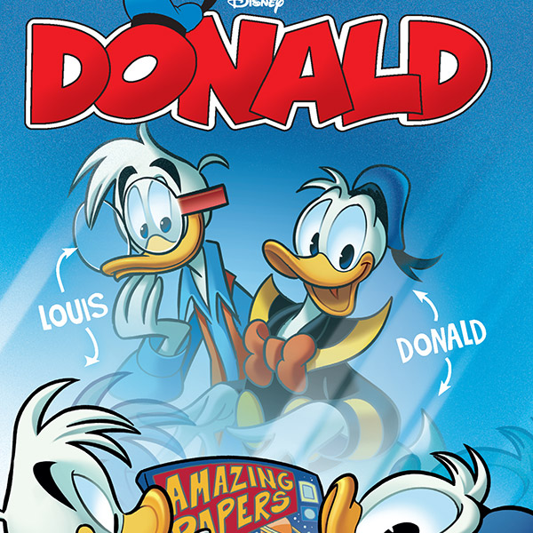 Donald 1: a nova revista Disney