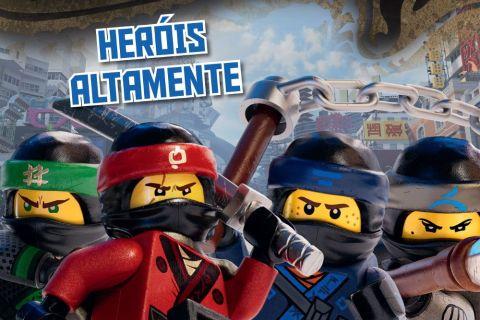 Os livros oficiais de Lego Ninjago – O Filme