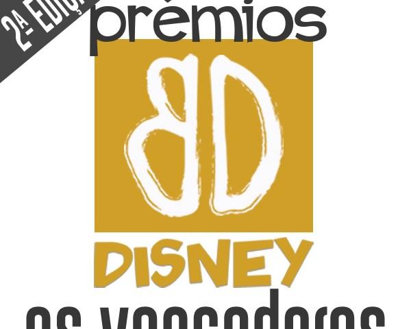 Prémios BD Disney – 2.ª edição: Os Vencedores