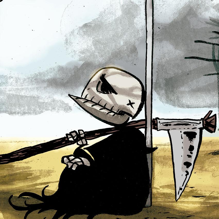 O Morte Crens, de Gustavo Borges