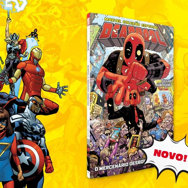 Nova série Marvel da Goody