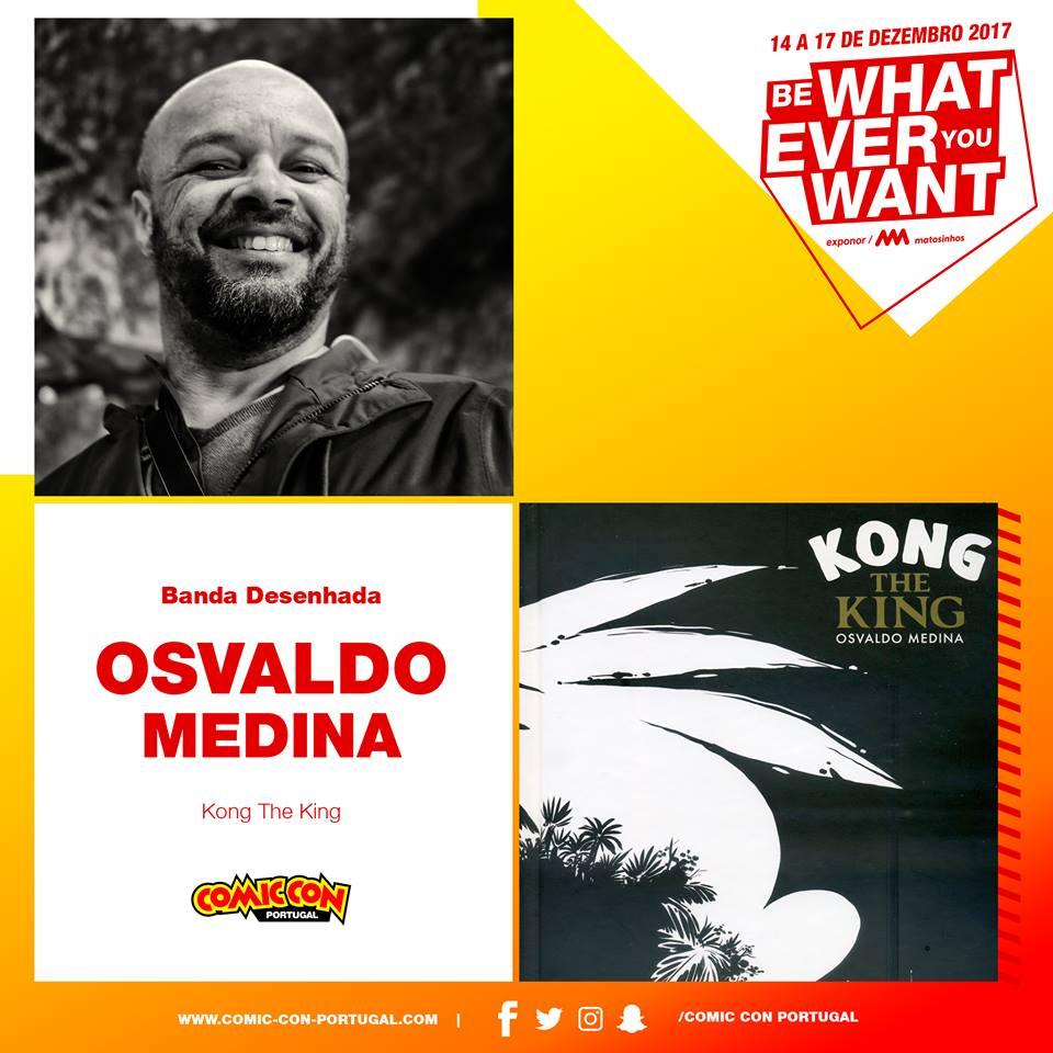 Osvaldo Medina na Comic Con 2017