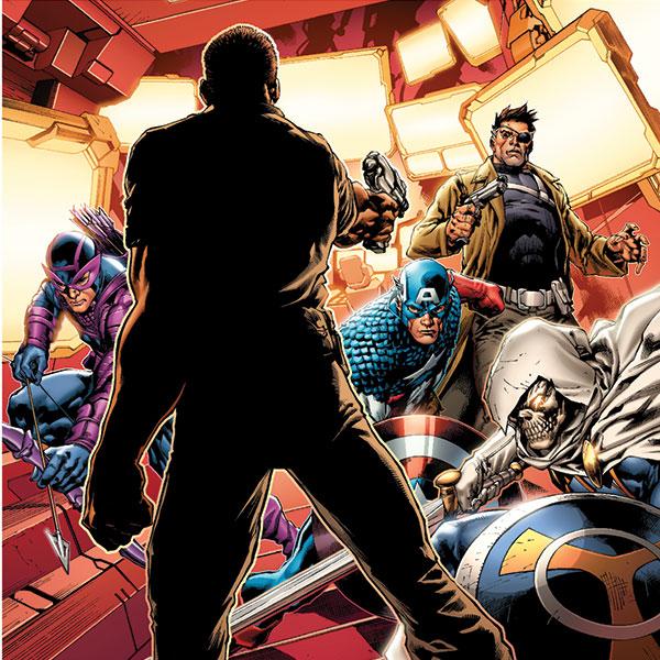 O 53.º da coleção Graphic Novels Marvel