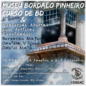 2º Módulo do II Curso de BD @ Museu Bordalho Pinheiro | Lisboa | Lisboa | Portugal