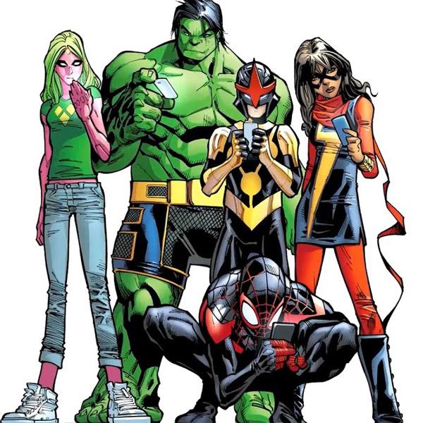 Champions - Adolescentes na Marvel