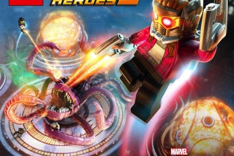 Guardiões da Galáxia e Champions em Lego Marvel Super-Heroes 2