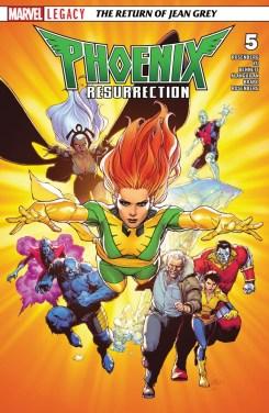 Phoenix Resurrection - The Return of Jean Grey 005-000