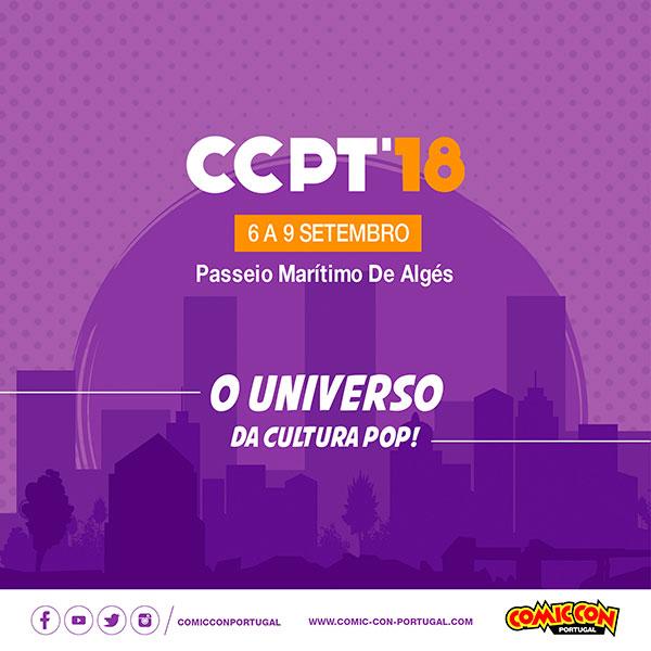 Comic Con muda-se para Oeiras