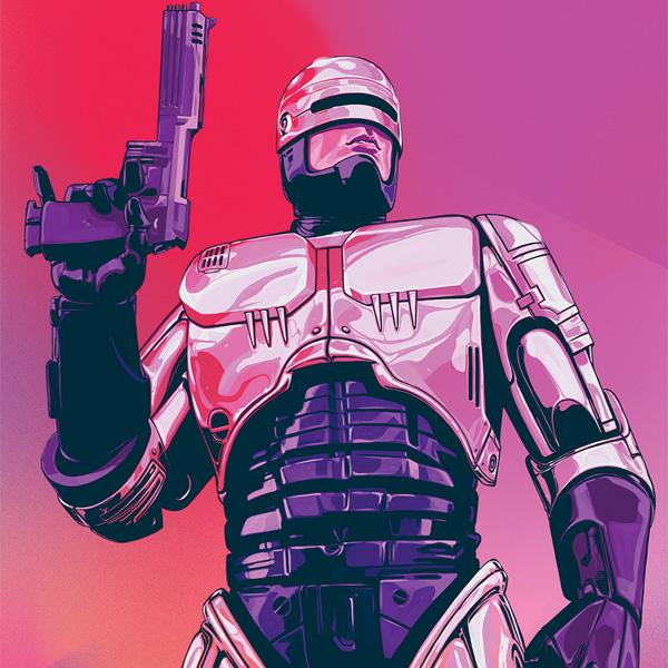 Novo Robocop Com Jorge Coelho Bandas Desenhadas