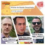 Comic Con: mais 3 autores confirmados