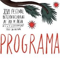 Programa do XVI Festival Internacional de BD de Beja