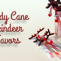 Rudolph Candy Cane Treats