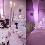 Décoration de table avec chandelier