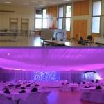 Mise en lumière de salle de mariage à Lyon