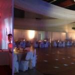Mise en lumière salle de mariage