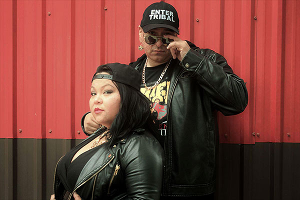 JB the First Lady and Chief Rock (Enter-Tribal)