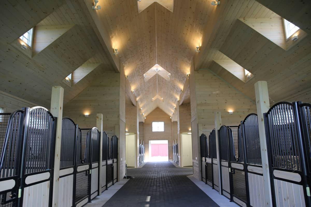 build light into your barn b d builders