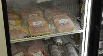 Sliced Pickled Pork in Cornmeal