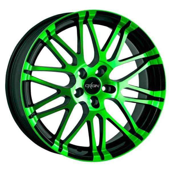 Oxigin 14 Oxrock neon green polish Mat