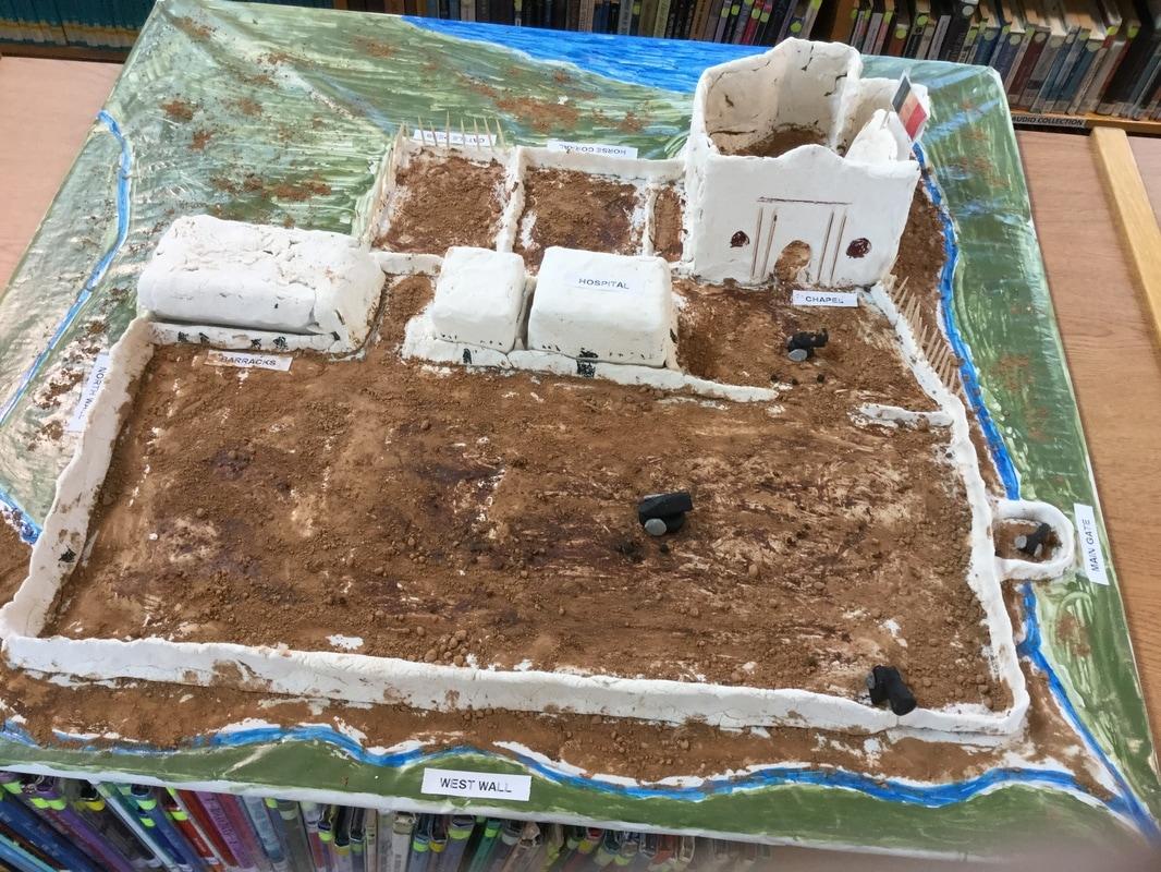 7th Grade Texas History Alamo Project
