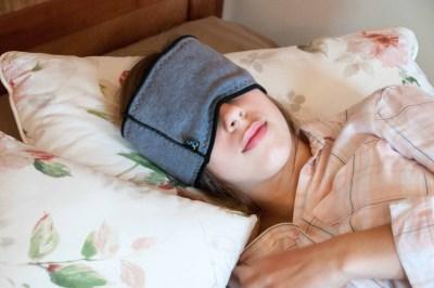 """Die Banderella Schlafmaske """"Traumschal"""" hilft gegen viele Leiden: Schlaflosigkeit, Stirn- und Augenfalten, chronische Sinusitis, Kieferentzündungen, Halsweh..."""