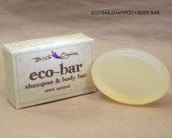 Eco Bar soap and shampoo combined