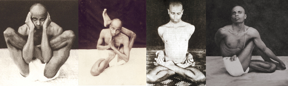 Pattabhi Jois young