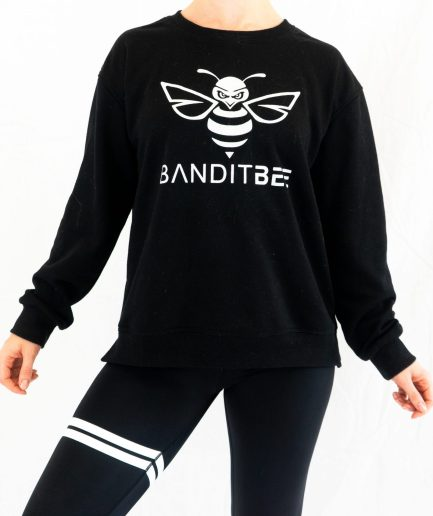 womens black oversized sweater
