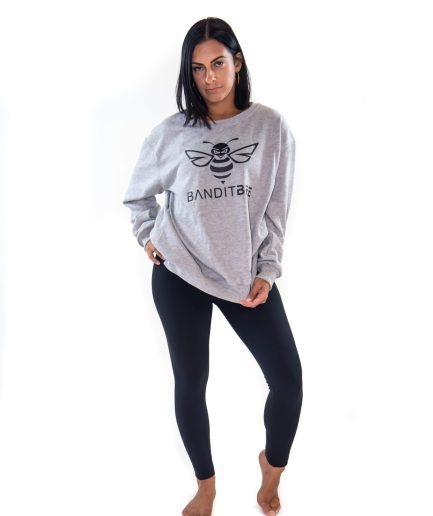 grey long sleeves women top