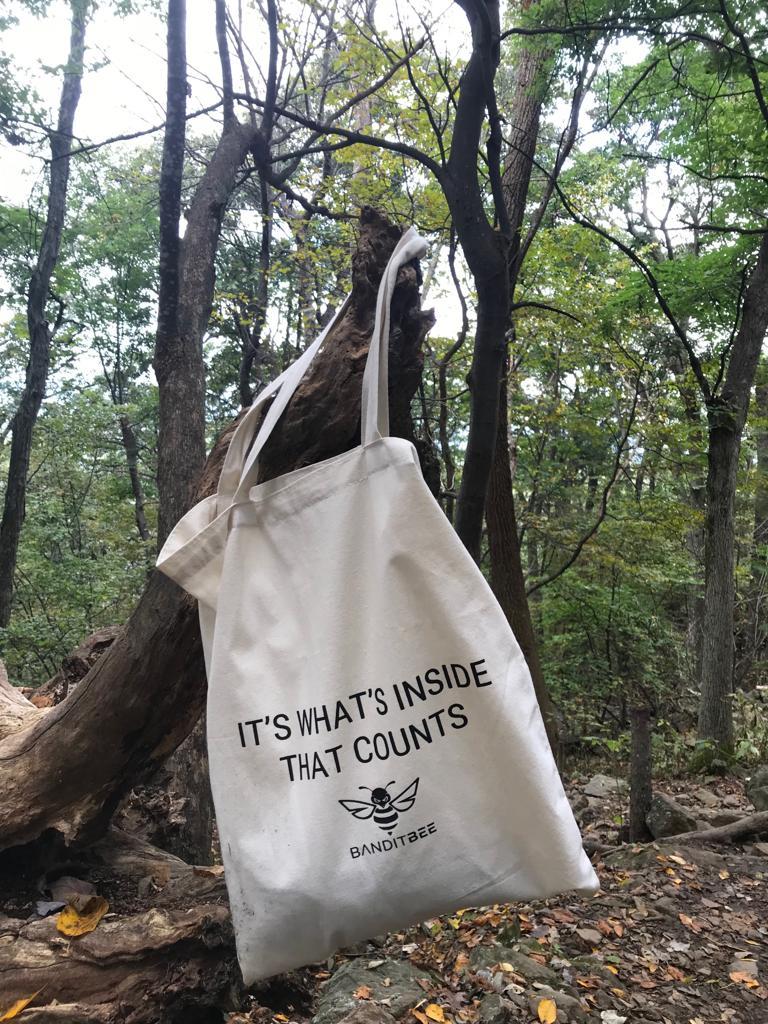 eco cotton tote bag