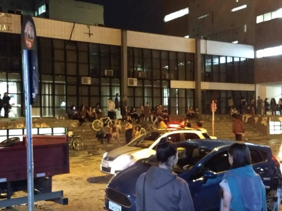 """Foto da matéria """"Homem é agredido em frente à Biblioteca Central da Universidade Federal do Paraná"""""""