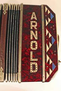 Bandoneon Alfred Arnold, um 1930