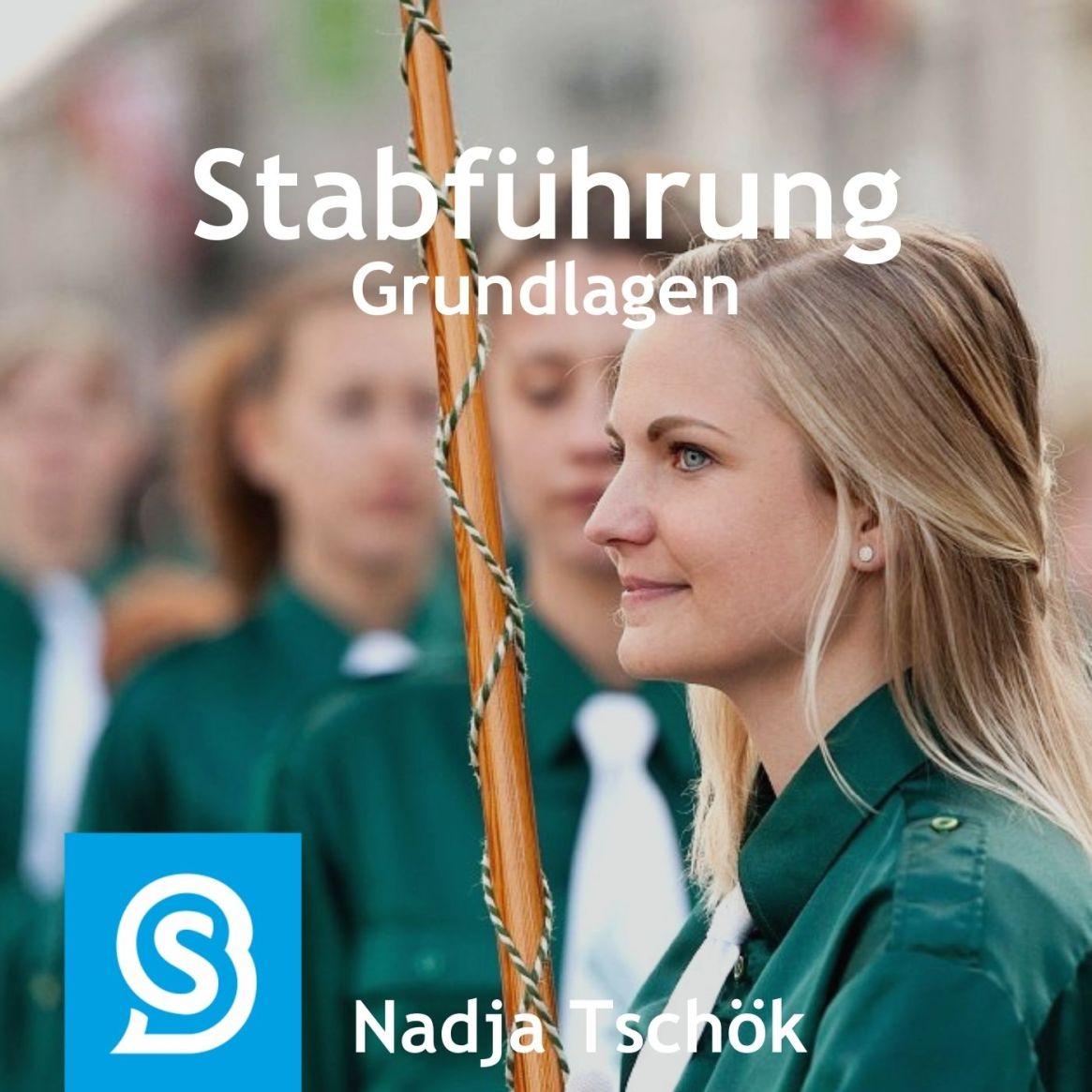 Stabführung Grundlagen üben - mit Nadja
