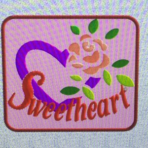 sweetheart patch