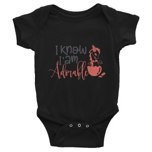 Adorable Dragon Infant Bodysuit