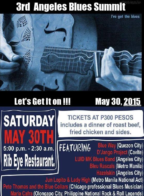 3rd Annual Angeles Blues Summit