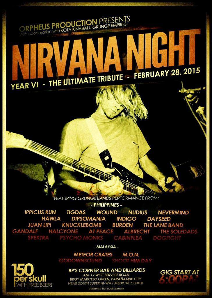NIRVANA NIGHT poster