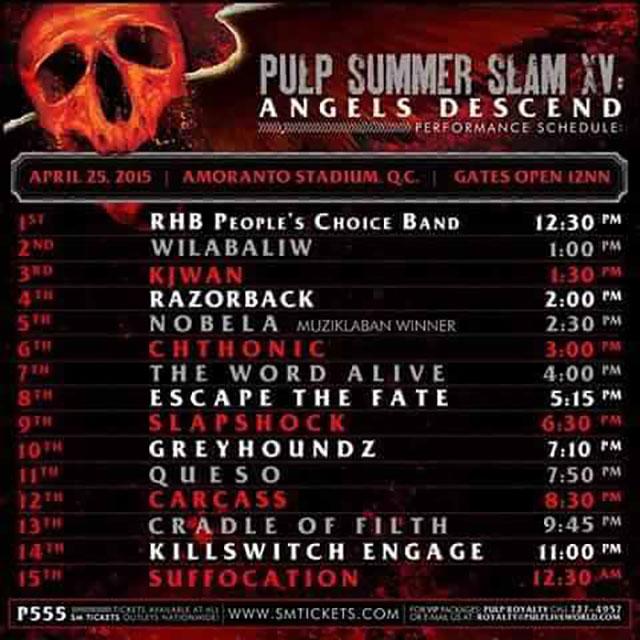 PULP-SUMMER-SLAM-XV