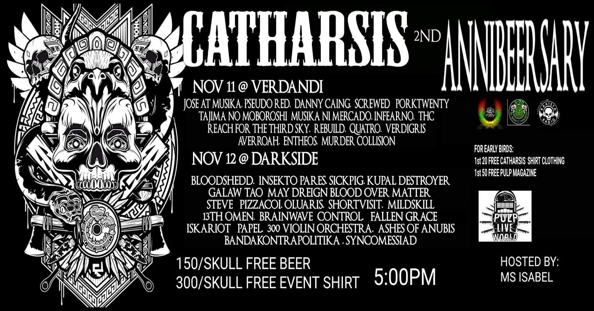 Catharsis AnniBeerSary