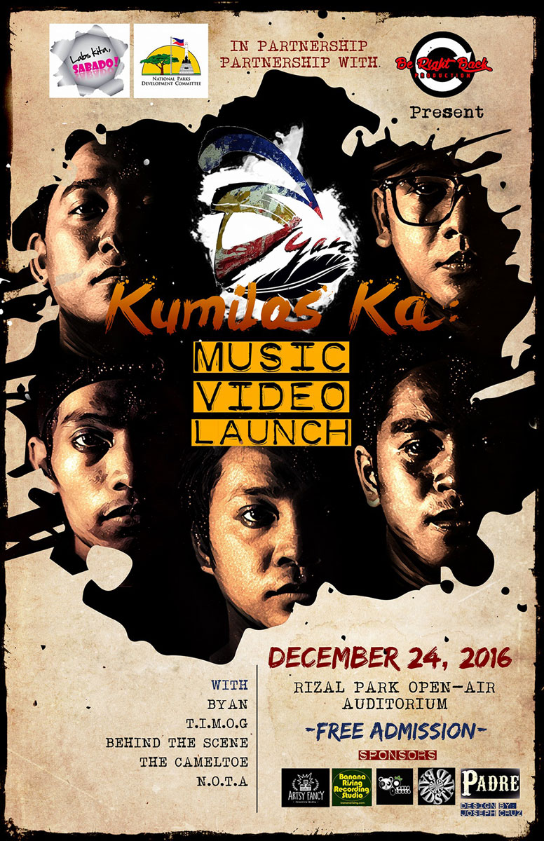 BYAN – Kumilos Ka (music video launch)