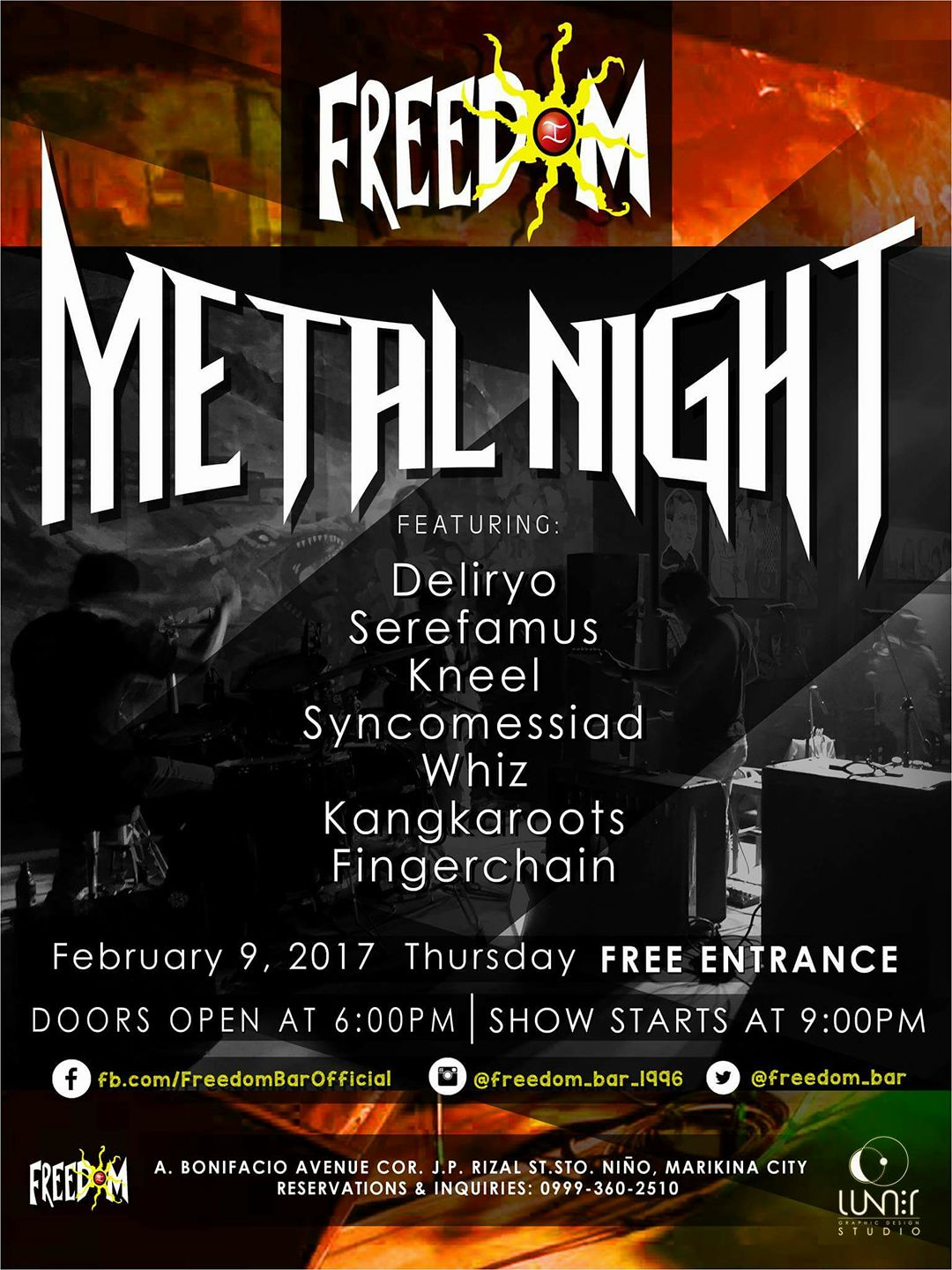 Metal Night 2.9.17