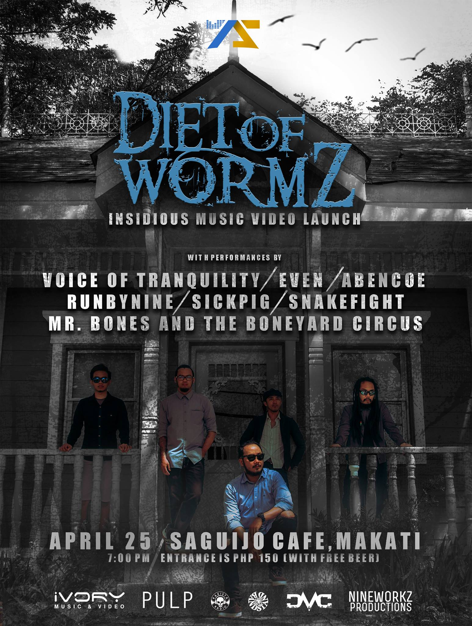 "Diet of Wormz ""Insidious"" MV Launch"