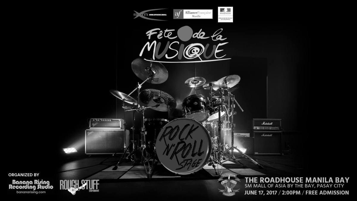 #FeteDeLaMusique2017 Rock N' Roll & Palawan Stages