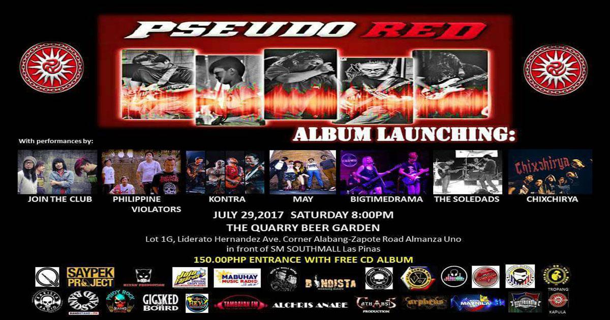 Pseudo RED (BAYANI) Album Launch