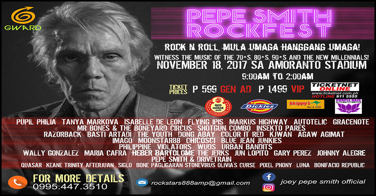 The 1st Annual PEPE SMITH ROCKFEST