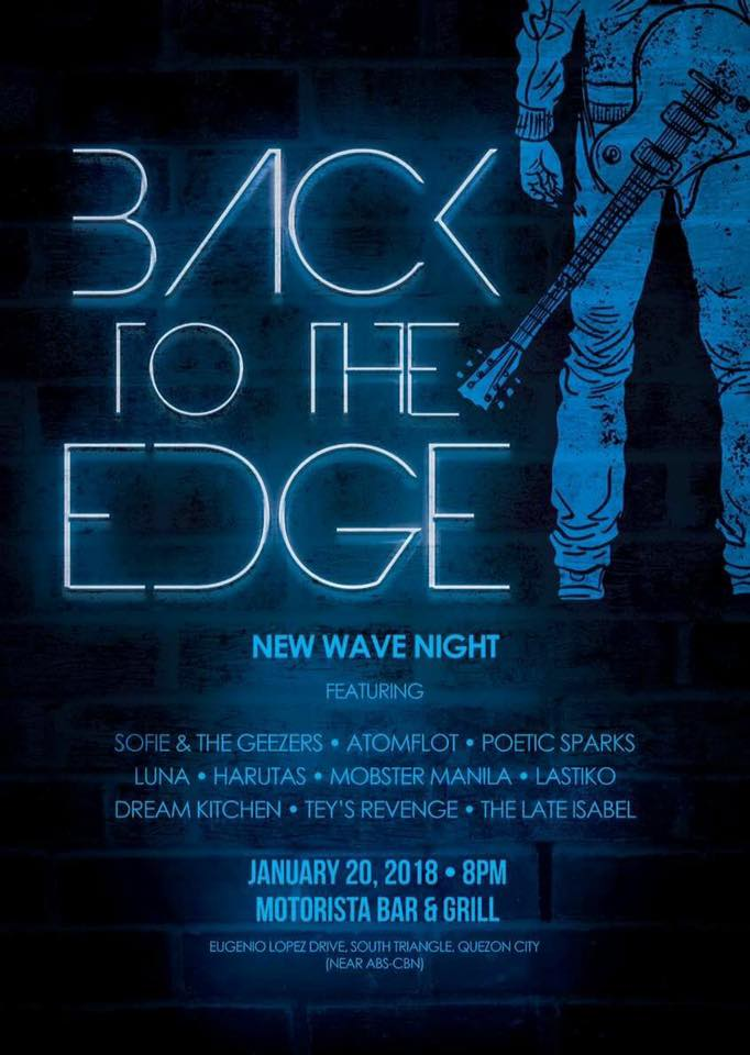 BACK TO THE EDGE Tribute Concert for Apat Ixan